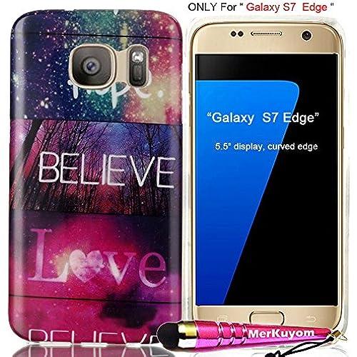 Fit [Galaxy S7 Edge], Galaxy S7 Edge Case, MerKuyom(TM) Pack- [Slim-fit] [Flexible Gel] Soft TPU Case Skin Rubber Cover For Samsung Galaxy S7 Edge (5.5 Sales