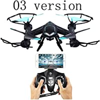Kseey Support mobile phone control Aerial UAV Drone Quadcopter with Wifi Camera FHD FPV live Video Camera and 2.4Ghz 4CH 6-Axis Gyro RC Headless Quadcopter Drone UFO(03 version)