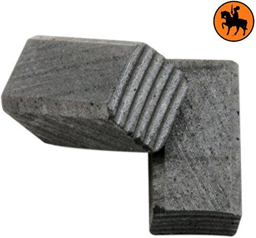 Balais de Charbon pour BLACK /& DECKER BD290 2.4x2.4x3.9 6x6x10,5mm