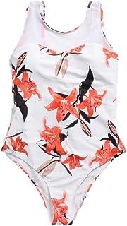 Costume da Bagno Intero Conservatore Bikini, Costume da Bagno per Nuoto Sportivo Guantato