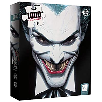 The Joker Crown Prince of Crime 1000 Piece Jigsaw Puzzle | Collectible Puzzle Featuring Crime Villain Joker | Officially Licensed DC Comics Merchandise: Toys & Games