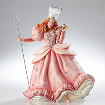 Enesco Warner Bros. Couture De Force Gift Glinda Figurine, 9.25-Inch