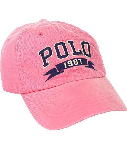 Polo Ralph Lauren Men`s Polo Chino Cap (One Size, Red Coral ()