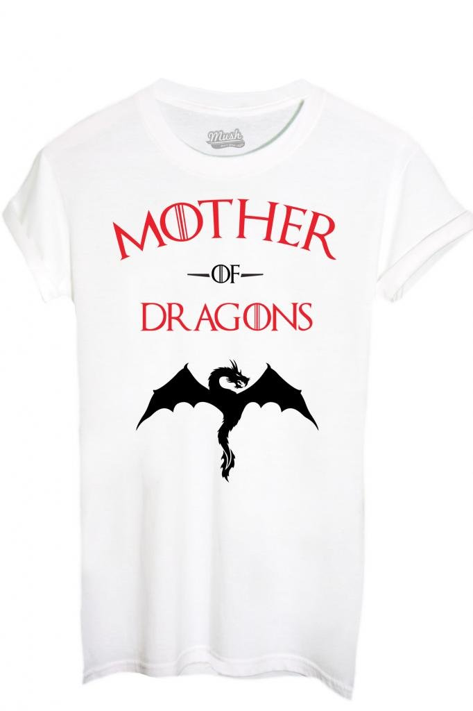 iMage T-Shirt MOTHER OF DRAGONS GAME OF THRONES - FILM by Dress Your Style imshT-IT-0733-parent