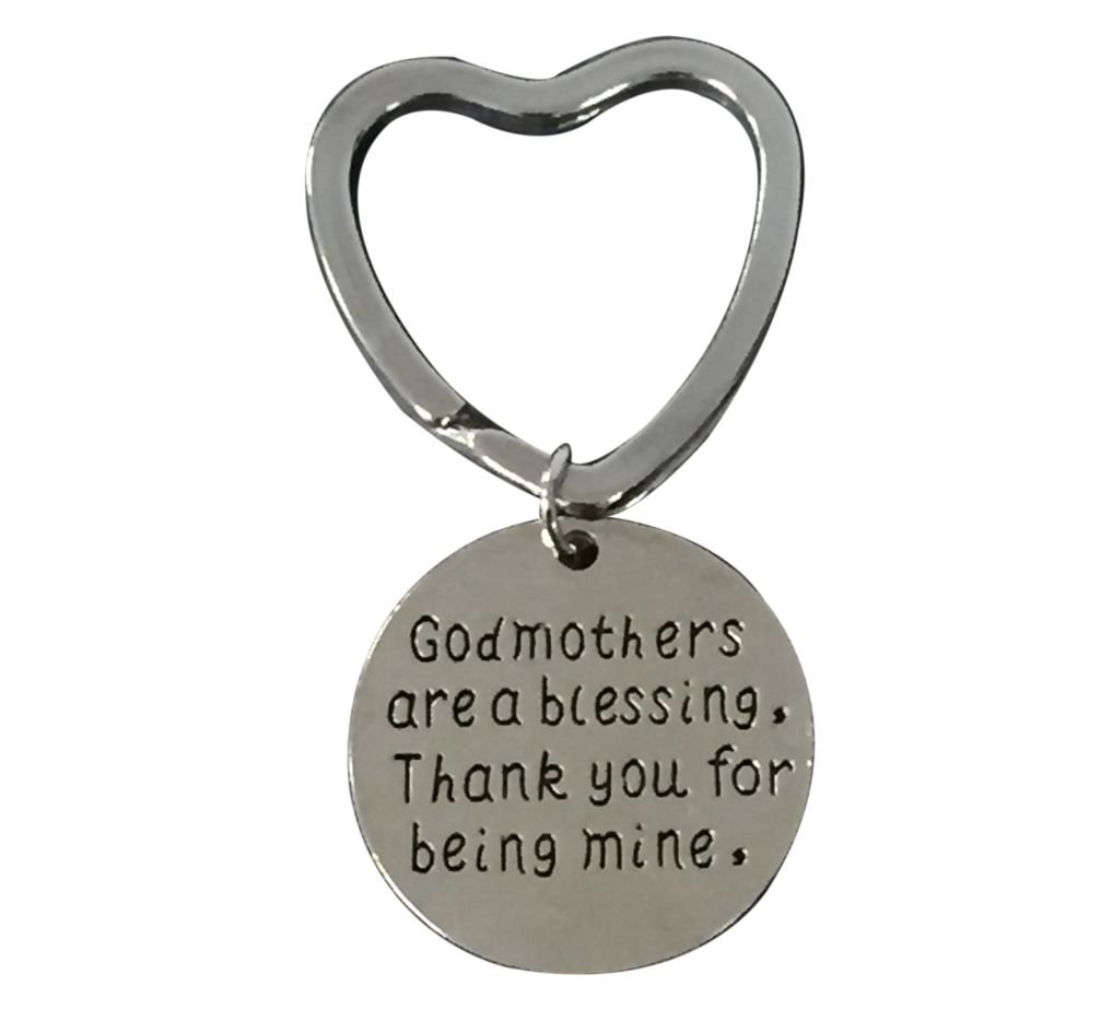 Infinity Collection Godmother Gift, Godmother Keychain, Godmother Jewelry for Godmothers