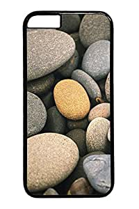 Apple System Default Wallpaper Stone Custom iphone 6 plus 5.5inch Case Cover Polycarbonate black