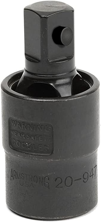 """Various sizes 6pt Armstrong Tools 1//2/"""" Drive Impact Swivel Socket Single"""
