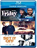 Friday / Menace II Society / Set It Off (Triple-Feature) [Blu-ray] by Warner Home Video by Various