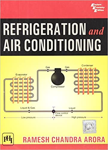 Refrigeration And Air Conditioning Book By Cp Arora Pdf