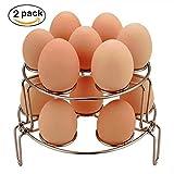 Egg Steamer Rack,WaterLuu Egg Cooker Stackable Steamer Rack...