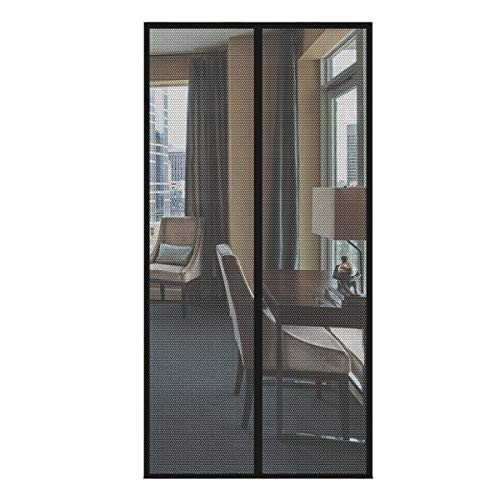 VONOTO Magnetic Screen Door 39x82 fits Door up to 37x81 Heavy Duty Mesh Curtain with Full Frame Velcro and Powerful Magnets That Snap Shut Automatically
