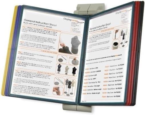 Displaysense Wall Mounted A4 Poster Flip Book Display