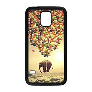 Elephant and colorful balloon Cell Phone Case for Samsung Galaxy S5 by mcsharks