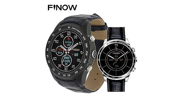 FINOW Q7 Plus 3G Smartwatch Phone 1.3 inch 8GB ROM Smart Watch ...