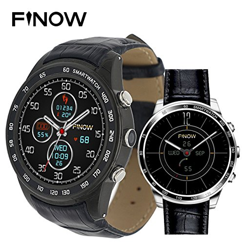 FINOW Q7 Plus 3G Smartwatch Phone 1.3 inch 8GB ROM Smart ...