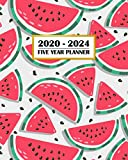 2020-2024 Five Year Planner: Fun Fresh Watermelon | Clean Family Country Life | 60 Month Calendar and Log Book | Business Team Time Management Plan | ... 5 Year - 2020 2021 2022 2023 2024
