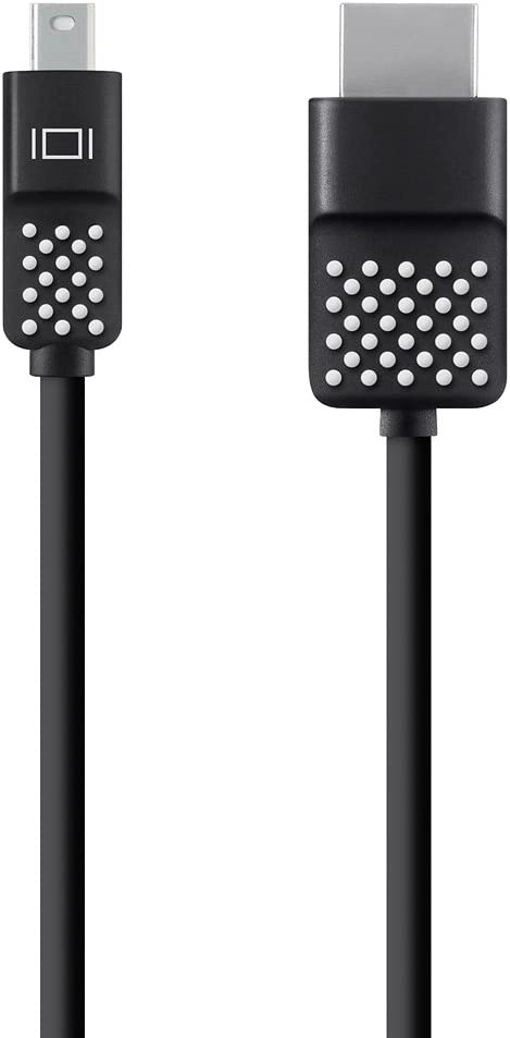 Belkin E9M041bt12 Mini DisplayPort to HDMI Cable 12'. 4K Compatible, Black (F2CD080bt12)