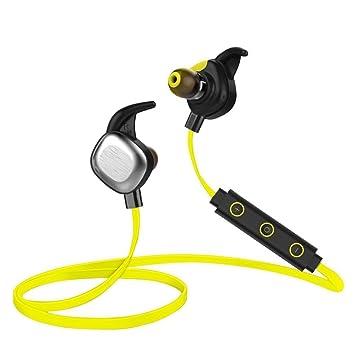 PANMARI IPX7 de natación para auriculares Bluetooth auriculares sumergibles, 10 horas para bicicleta auriculares Inalámbrico