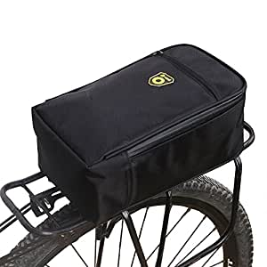 Amazon.com: SHZONS Bolsa de maletero para bicicleta, bolsa ...