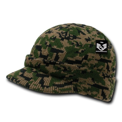 (Rapiddominance Camo Jeep Cap, Woodland Digital)