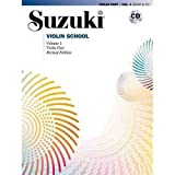 img - for Suzuki Violin School Revised Edition Violin Part Book & CD Volume 1 book / textbook / text book