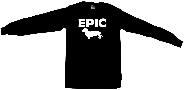 Epic Weiner Wiener Dog Silhouette Mens Sweat Shirt