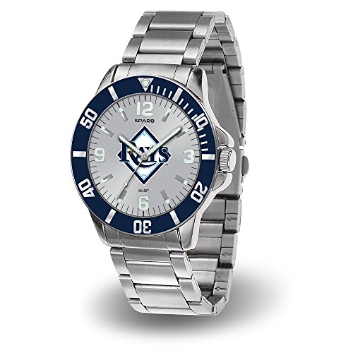Tampa Bay Rays Key Watch with Stainless Steel Band