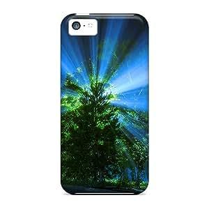 New Arrival AnxgmAh5976nsZaI Premium Iphone 5c Case(night Light Rays)