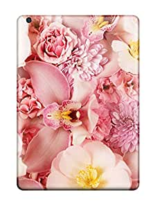 New Premium Flip Case Cover Pink Orchids Skin Case For Ipad Air