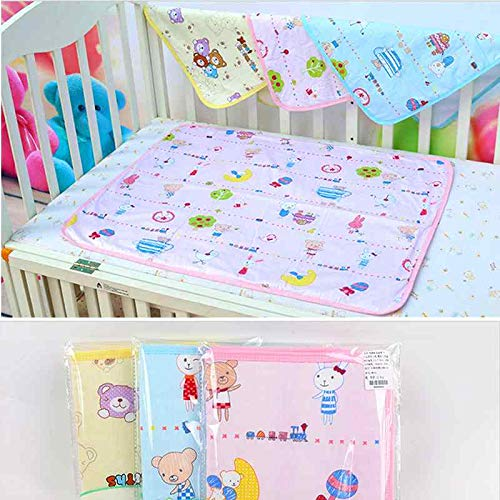 Baby Changing Mattress with New Design 2019, Mattress Protector Diaper Changing Pad Newborn Baby Nappy - Waterproof Crib Pad, Waterproof Protector Baby Diaper Changing, Waterproof Flannel Pads (Best Mattress Pads 2019)