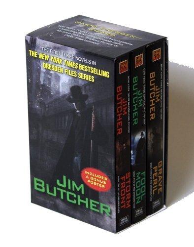 jim butcher set - 8
