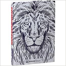 Bíblia Sagrada NAA - Leão Branco - Jesus Copy