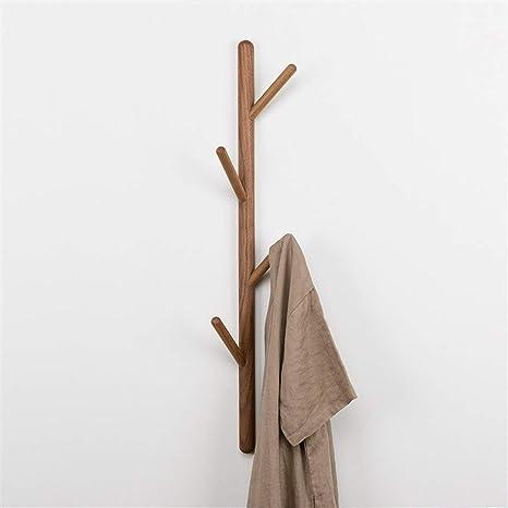 Perchero de pared decoración Escudo de madera natural de los ...