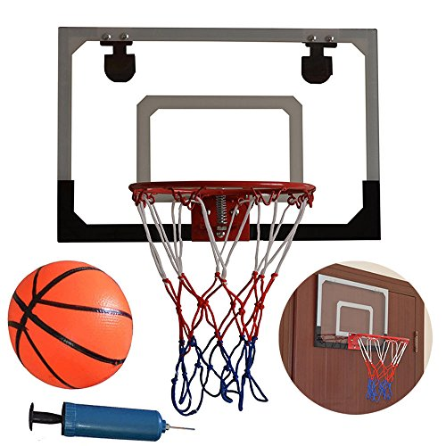 Mini Hoop Basketball Ball Door Indoor Set Wall Spalding Over Wall Game Sports Net Goal