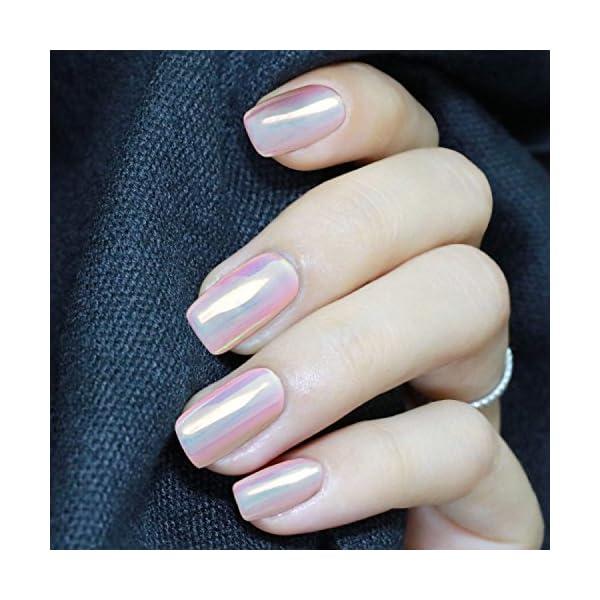 PrettyDiva Chrome unicorn nail powder 10