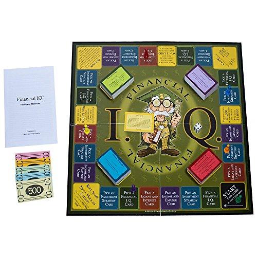 Financial IQ Board Game