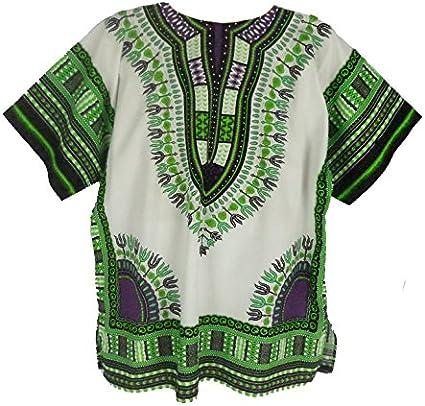 Dashiki camisa para hombre Dashiki africana camiseta talla única varios colores