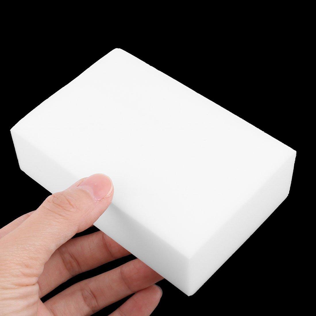Amazon.com: eDealMax Esponja Domésticos de Cocina rectángulo Pot Pan Placa 14pcs Tazón de limpieza almohadilla Blanca: Health & Personal Care