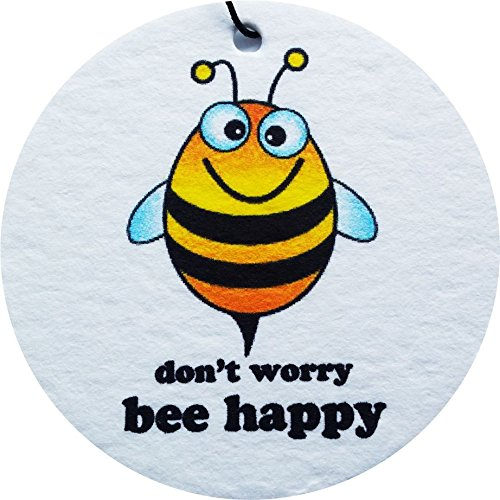 Aaf Popular Dont Worry Bee Happy Car Air Freshener