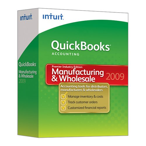 QuickBooks Premier Manufacturing & Wholesale Edition 2009 [OLD VERSION]