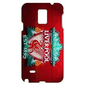 Liverpool FC Logo Design Retro Design Liverpool Football Club Phone Case 3D Hard Phone Case for Samsung Galaxy Note 4