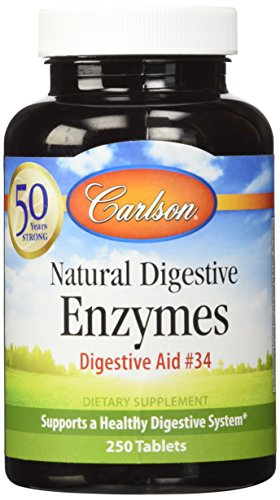 Carlson Digestive Powerful Enzymes Tablets