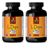 Natural male performance pills - L-DOPA (MUCUNA PRURIENSE EXTRACT) - Dopa focus - 2 Bottles 120 Capsules