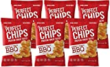 Ips Protein Chips BBQ Flavor – Baked Healthy Gluten-Free, Non-GMO Food – Crunchy Delicious Barbecue Snacks for Kids/Diet with � the Fat of Fried Crisps – 1oz Bags 6 Pack (Packaging may vary)