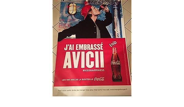 Cartel - Coca-Cola \ Avicii - Abribus - 120 x 175 cm ...