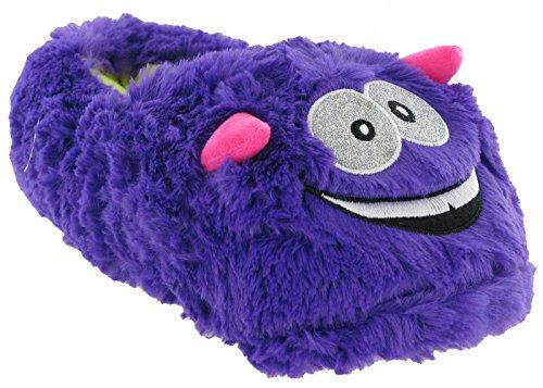 Pantoufles Monstre 35 Mesdames 3 Violet Moelleux UK Fun 36 C C 2 EU qzTIxnt4w