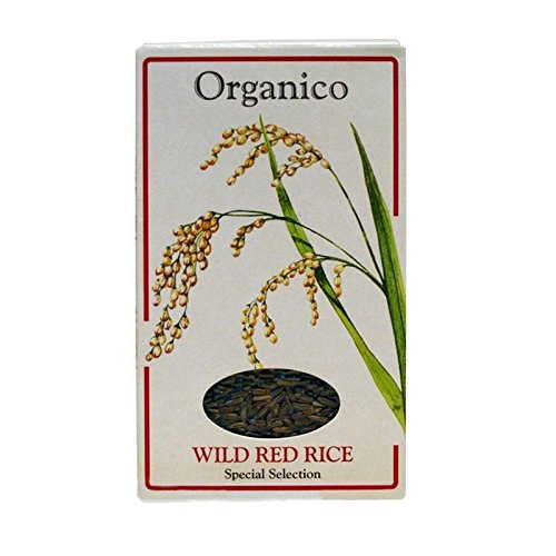 Organico Wild Red Rice Wholegrain 500g - Pack of 6 by Organico