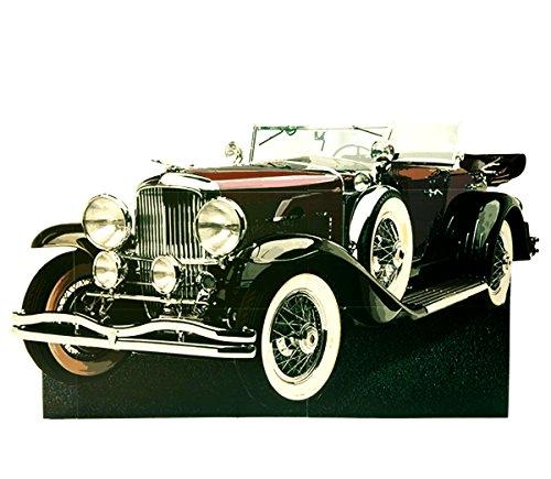 Red Gatsby Car Photo Prop Cardboard Cutout - 5' 1