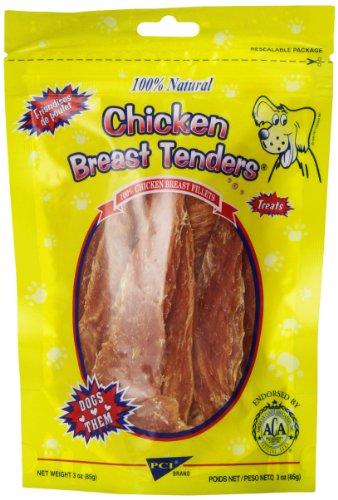 Pet Center DPC88003 Chicken Breast Tenders Dog Treat, 3-Ounce (Center Pet Tenders Chicken Breast)