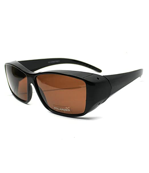 dbe4e210606 Image Unavailable. Image not available for. Color  FIT OVER SUNGLASSES WITH POLARIZED  LENSES